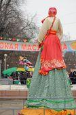 Orel, Oroszország, Maslenitsa fesztivál - 22 február, 2015-re: Kostroma