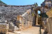 The ancient theatre. Turkey, Pamukkale