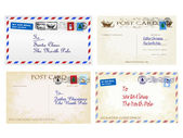 Christmas letters and postcards to Father Christmas