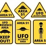 Постер, плакат: Ufo danger