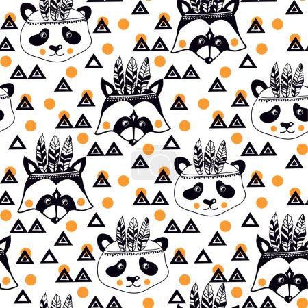 Еноты и панды