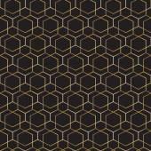 Abstrakte geometrische Muster. Nahtlose golden Vektor Hintergrund