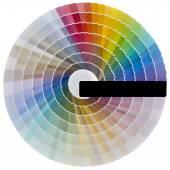 Color színminta kivágott