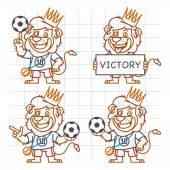 Lev fotbalista Doodle část 3
