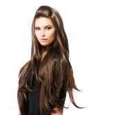 Hosszú hajú nő