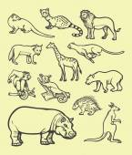 Animal sketch spontaneously Good use for website icon logo symbol avatar mascot doodle illustration or any design you want Easy to use edit or change color