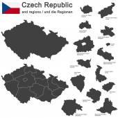 Země Česká republika a regiony