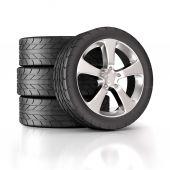 čtyři pneumatiky