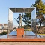 ������, ������: Monument to Vladimir Vysotsky in Podgorica Montenegro