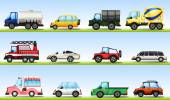 Different types of vehicles for diefferent purposes
