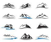 Berg Icons set