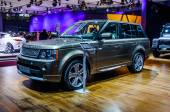 MOSCOW, RUSSIA - AUG 2012: LAND ROVER RANGE ROVER 3RD GENERATION