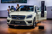 MOSCOW, RUSSIA - AUG 2012: MERCEDES-BENZ M-CLASS AMG W166 presented as world premiere at the 16th MIAS Moscow International Automobile Salon on August 30, 2012 in Moscow, Russia