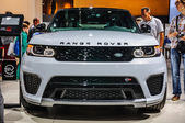 FRANKFURT - SEPT 2015: Land Rover Range Rover presented at IAA I