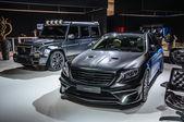 FRANKFURT - SEPT 2015: MANSORY BLACK EDITION Mercedes S Class AM