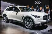FRANKFURT - SEPT 2015: Infinity QX70 presented at IAA Internatio