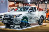 FRANKFURT - SEPT 2015: Mitsubishi L200 presented at IAA Internat