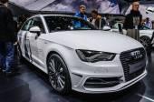 FRANKFURT - SEPT 2015: Audi A3 e-tron presented at IAA Internati