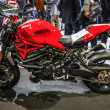 Постер, плакат: FRANKFURT SEPT 2015: Ducati Streetfighter 848 presented at IAA