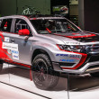 Постер, плакат: FRANKFURT SEPT 2015: Mitsubishi Outlander Phev presented at IA
