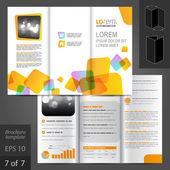 Broschüre-Template-design