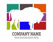 Vector Design of Animal Silhouette for Logo Icon Graphic