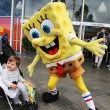 ������, ������: Australian tennis fans taken pictures with SpongeBob SquarePants during Australian Open 2016 at Australian tennis center