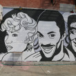 Постер, плакат: Mural art at East Williamsburg in Brooklyn