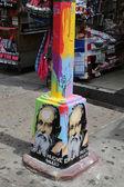 Nástěnné umění v malé Itálii v Manhattanu