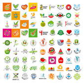 Sok olyan vektor logo, az egészséges életmód