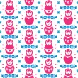 ������, ������: Russian doll Matryoshka folk art floral seamless pattern