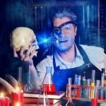 Постер, плакат: Crazy skull Halloween