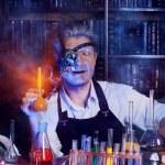 Постер, плакат: Fantastic scientist Halloween