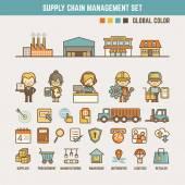 Poskytnout řetězec infographic prvky