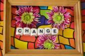 Slovo změna na abstraktní