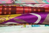 Fabric hedvábné textury. abstraktní malba