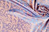 Textura hedvábné tkaniny