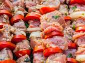 Syrové maso při grilování