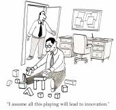 Play leads to innovation