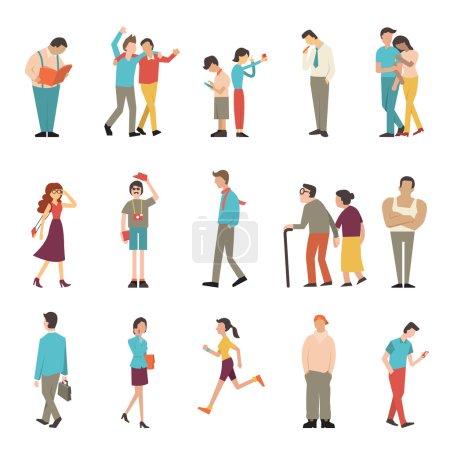 menschen, in, verschiedenen, lebensstilen - B59727327