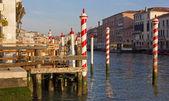 Terasa na Canal Grande v Benátkách