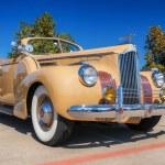 Постер, плакат: 1941 Packard One Twenty Convertible Sedan classic car