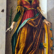 Постер, плакат: The St Mary Magdalene after 1491 4 by Carlo Crivelli 1430 1494 at the National Gallery of London
