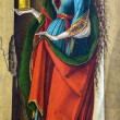 Постер, плакат: Saint Catherine of Alexandria after 1491 4 by Carlo Crivelli 1430 1494 at the National Gallery of London