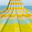 Постер, плакат: Colorful water feature slide