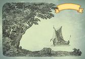 Alte Piraten-Karte