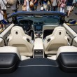 Постер, плакат: Interior of grand tourer car Maserati GranCabrio MC since 2012