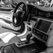 Постер, плакат: Interior of full size luxury car Maserati Quattroporte VI since 2013