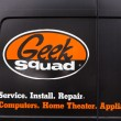 Постер, плакат: Geek Squad Logo on Vehicle