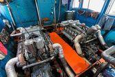 Velký lodní motor